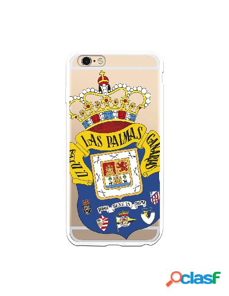 Funda para iphone 6s plus oficial del las palmas escudo transparente - licencia oficial del las palmas