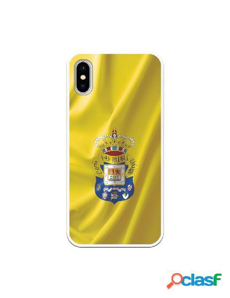 Funda para iphone xs oficial del las palmas bandera amarilla - licencia oficial del las palmas
