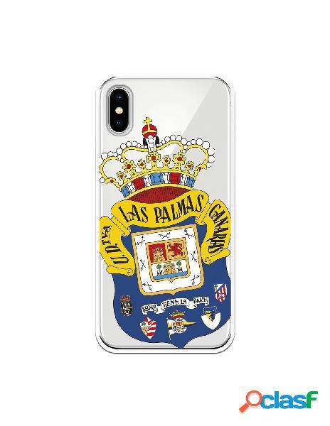 Funda para iphone xs oficial del las palmas escudo transparente - licencia oficial del las palmas