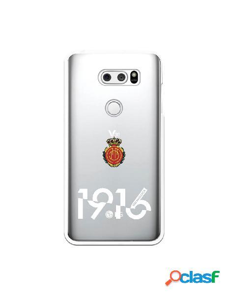 Funda para lg v30 del mallorca rcd mallorca 1916 transparente - licencia oficial rcd mallorca