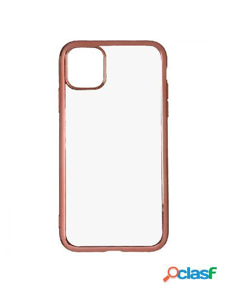 Funda bumper premium oro rosa para iphone 11 pro max