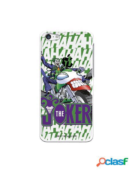 Funda para iphone 5c oficial de dc comics joker moto - dc comics