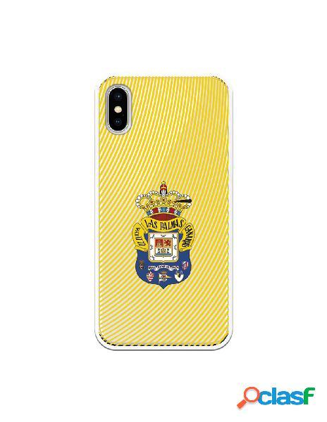 Funda para iphone xs oficial del las palmas escudo azul fanda amarillo - licencia oficial del las palmas