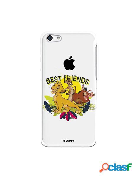 Funda para iphone 5c oficial de disney simba, timón y pumba best friends - el rey león