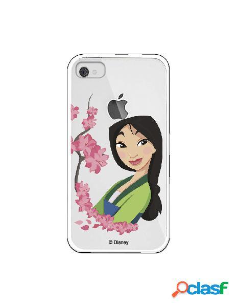Funda para iphone 4s oficial de disney mulan amapolas - mulan