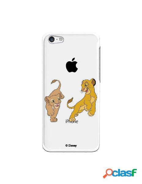 Funda para iphone 5c oficial de disney simba y nala jugando - el rey león