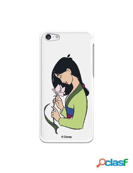 Funda para iphone 5c oficial de disney mulan flor de loto - mulan