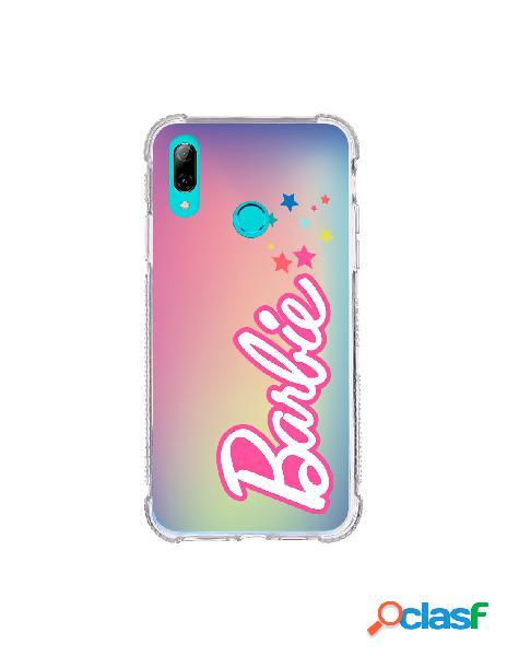 Funda para huawei p smart 2019 oficial de mattel barbie logo estrellas brillo láser - barbie