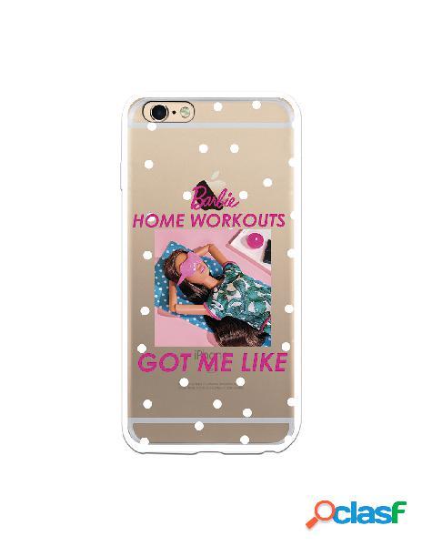 Funda para iphone 6s plus oficial de mattel barbie home workouts got me like - barbie