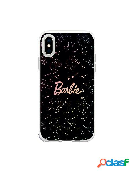 Funda para iphone xs oficial de mattel barbie constelaciones brillo laser - barbie