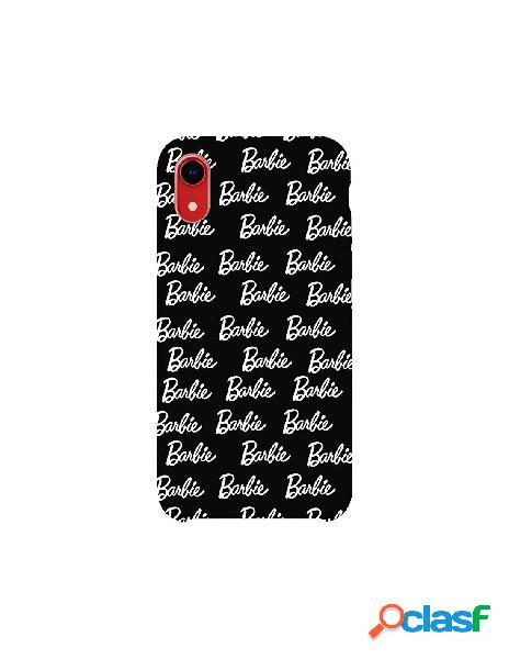 Funda para iphone xr oficial de mattel barbie ultrasuave logo negra - barbie