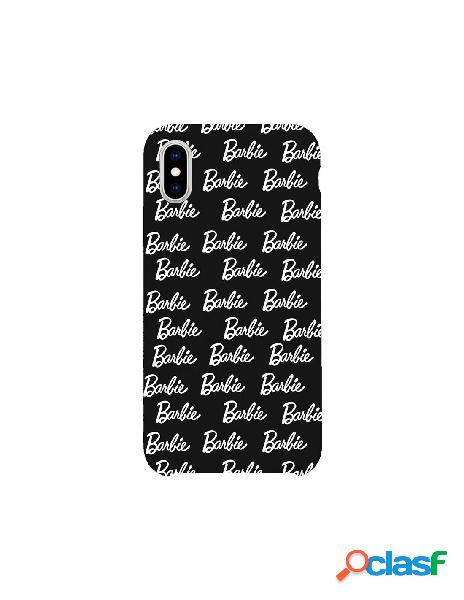 Funda para iphone xs oficial de mattel barbie ultrasuave logo negra - barbie