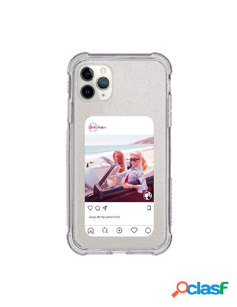 Funda para iphone 11 pro max oficial de mattel barbie instagram brillantina reforzada - barbie
