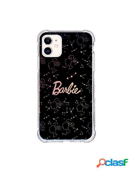 Funda para iphone 11 oficial de mattel barbie constelaciones brillo laser - barbie