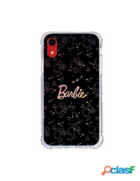 Funda para iphone xr oficial de mattel barbie constelaciones brillo laser - barbie