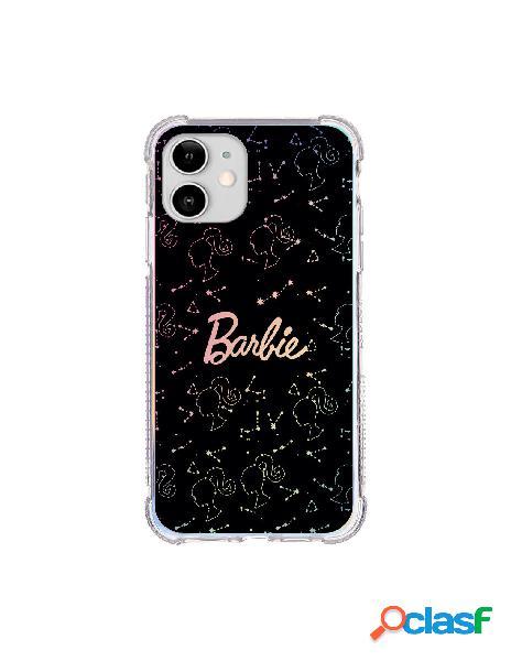 Funda para iphone 12 oficial de mattel barbie constelaciones brillo laser - barbie