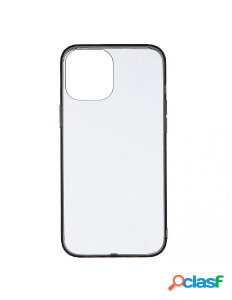 Funda bumper negro para iphone 12 pro max