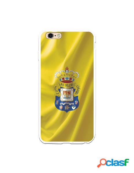 Funda para iphone 6s plus oficial del las palmas bandera amarilla - licencia oficial del las palmas