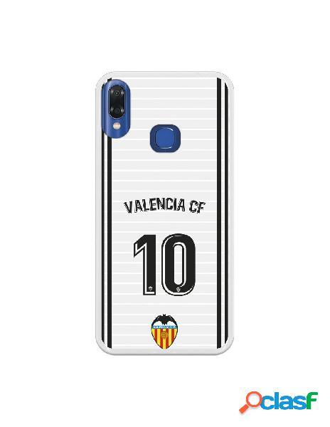 Funda oficial valencia camiseta primera equipación valencia c.f. para vsmart joy 1 plus