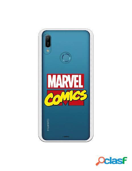 Funda oficial marvel comics para huawei honor 8a