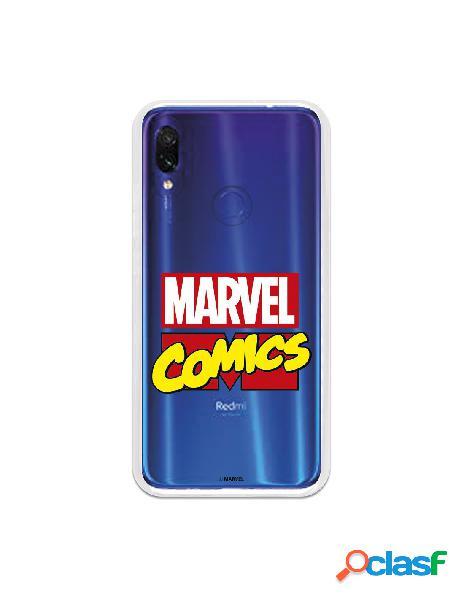 Funda oficial marvel comics para xiaomi redmi 7