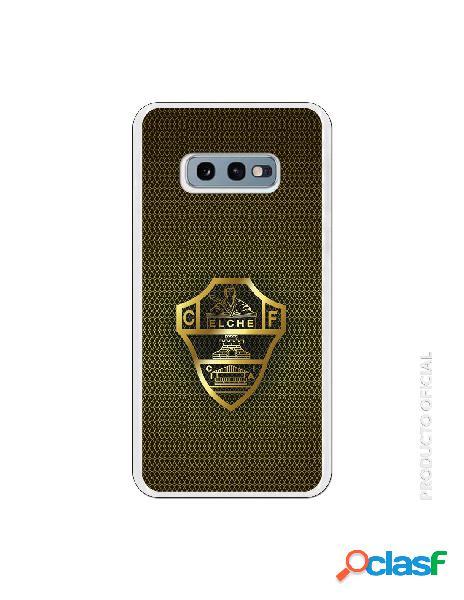 Funda oficial escudo elche cf dorado para samsung galaxy s10e