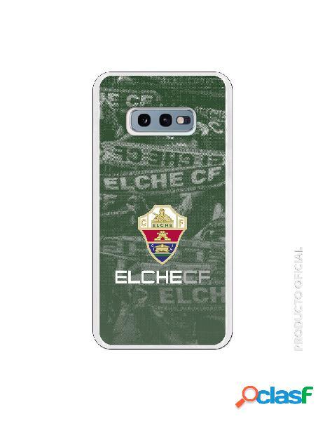 Funda oficial escudo elche cf fondo afición para samsung galaxy s10e