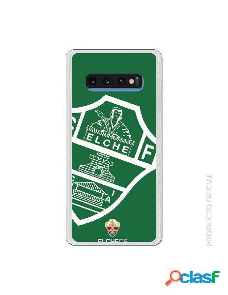 Funda oficial escudo elche cf fondo verde para samsung galaxy s10 plus
