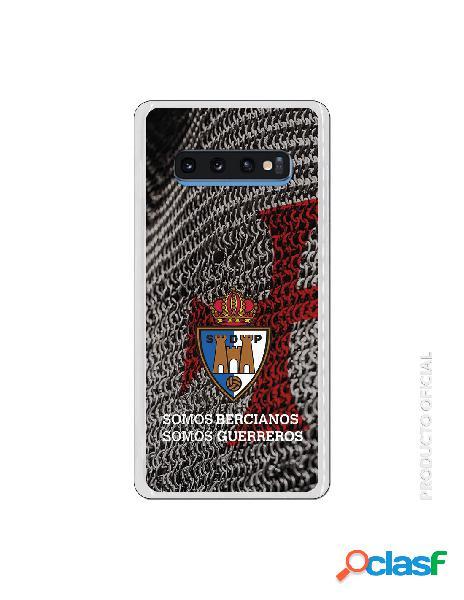 Funda oficial escudo s.d. ponferradina somos bercianos somos guerreros para samsung galaxy s10 plus