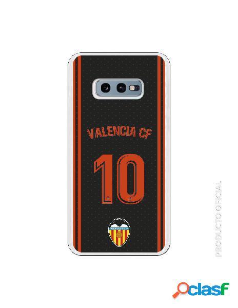 Funda oficial valencia camiseta tercera equipación valencia c.f. para samsung galaxy s10e