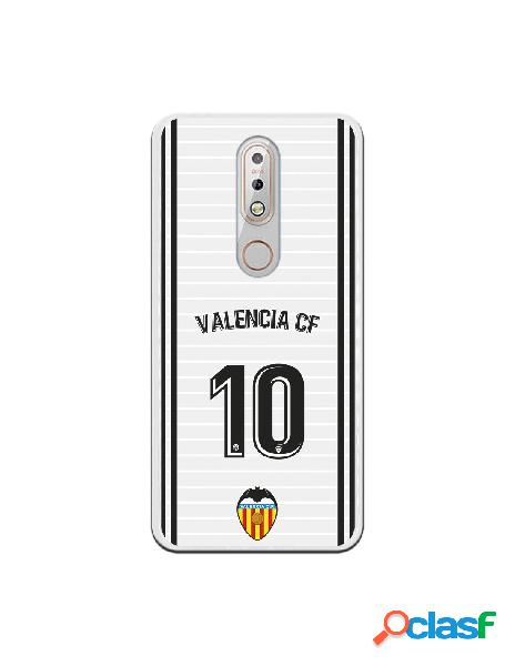 Funda oficial valencia camiseta primera equipación valencia c.f. para nokia 7.1