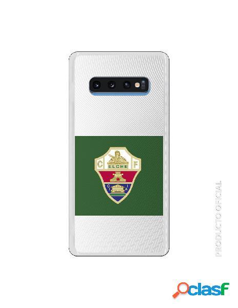 Funda oficial escudo elche cf clásico franja verde para samsung galaxy s10 plus