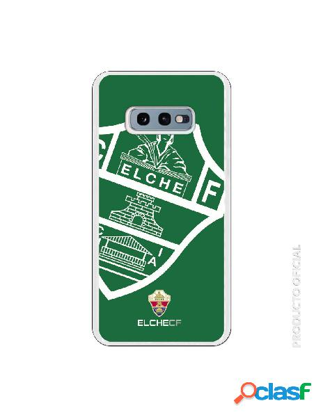 Funda oficial escudo elche cf fondo verde para samsung galaxy s10e
