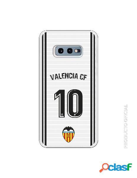 Funda oficial valencia camiseta primera equipación valencia c.f. para samsung galaxy s10e
