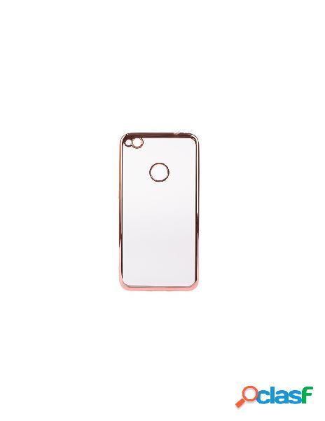 Bumper premium oro rosa huawei p8 lite 2017