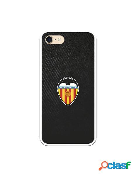 Carcasa para iphone 8 oficial del valencia cf franjas negras - licencia oficial del valencia cf