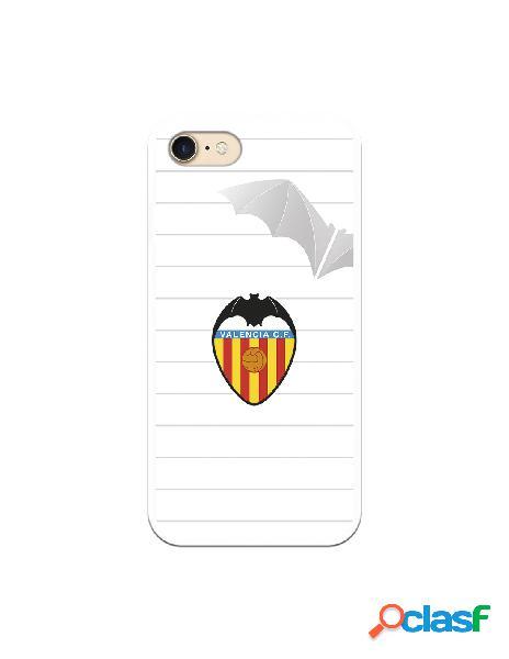 Carcasa para iphone 8 oficial del valencia cf escudo y murcielago - licencia oficial del valencia cf