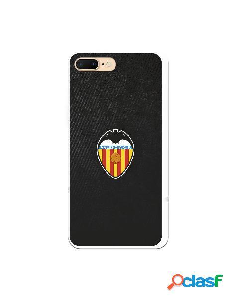 Carcasa para iphone 8 plus oficial del valencia cf franjas negras - licencia oficial del valencia cf