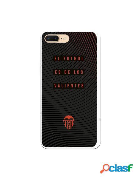 Carcasa para iphone 8 plus oficial del valencia cf valientes escudo naranja - licencia oficial del valencia cf