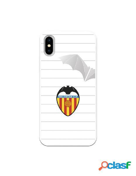 Carcasa para iphone xs oficial del valencia cf escudo y murcielago - licencia oficial del valencia cf