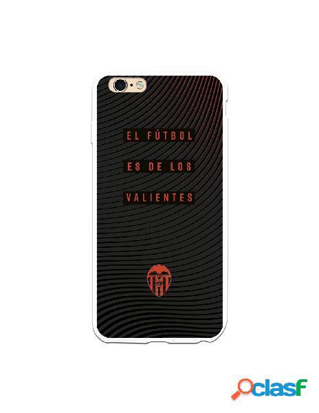 Carcasa para iphone 6s plus oficial del valencia cf valientes escudo naranja - licencia oficial del valencia cf