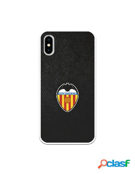 Carcasa para iphone xs oficial del valencia cf franjas negras - licencia oficial del valencia cf