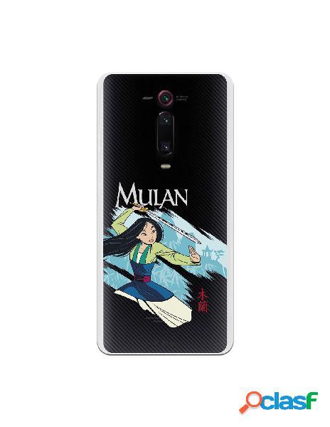 Funda para xiaomi mi 9t oficial de disney mulan tipografia - mulan