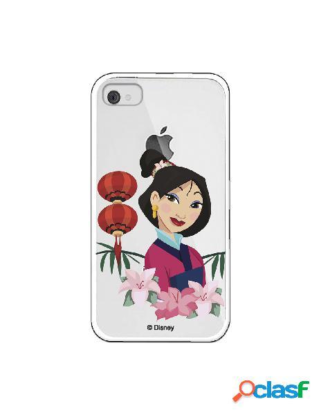 Funda para iphone 4s oficial de disney mulan rostro - mulan