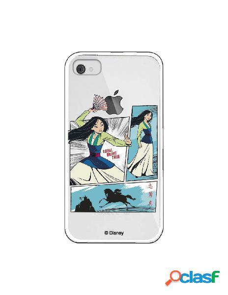 Funda para iphone 4s oficial de disney mulan viñetas - mulan