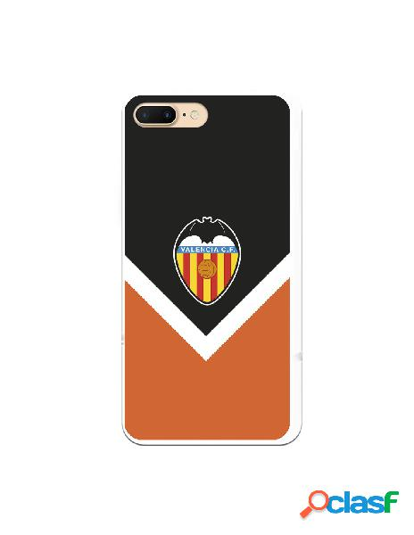 Carcasa para iphone 8 plus oficial del valencia cf escudo clasico - licencia oficial del valencia cf