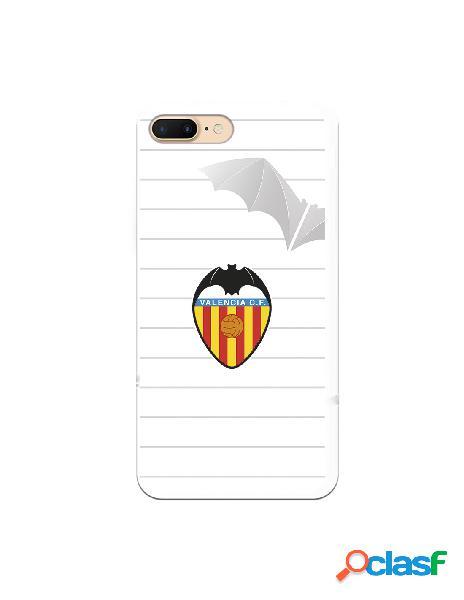 Carcasa para iphone 8 plus oficial del valencia cf escudo y murcielago - licencia oficial del valencia cf
