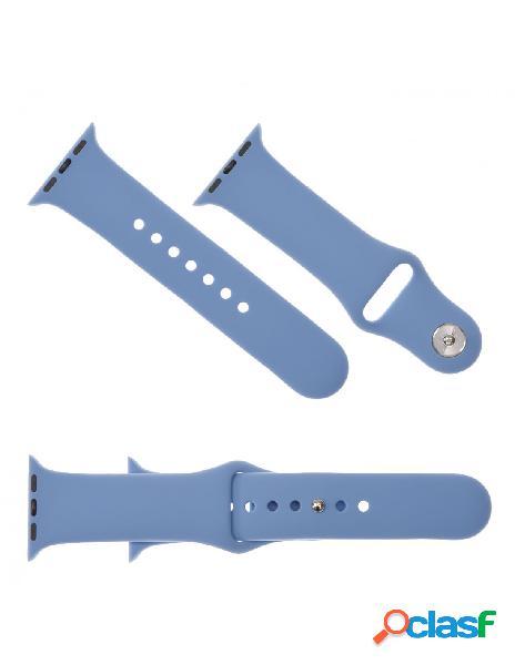 Correa reloj para apple watch 42 mm azul claro