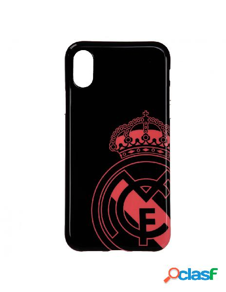 Carcasa oficial real madrid escudo rosa para iphone x