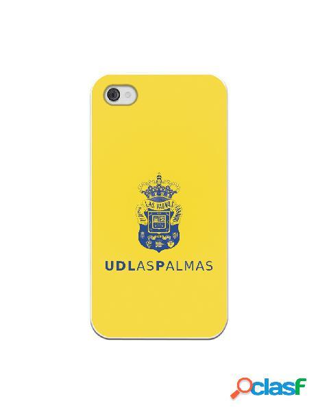 Funda para iphone 4s oficial del las palmas azul fondo amarillo - licencia oficial del las palmas